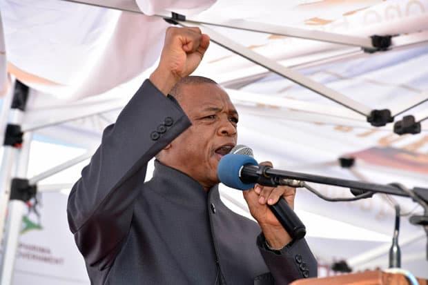 North West Premier Supra Mahumapelo  (Photo: GCIS)