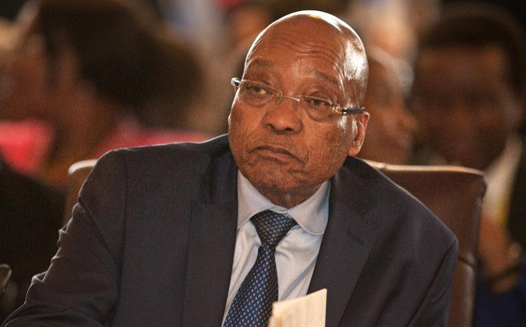 South Africa's President Zuma sacks finance minister