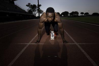 Simbine takes aim at 200m final