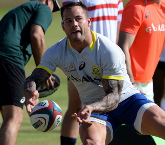 Francois Hougaard Joins Worcester For Short Stint The