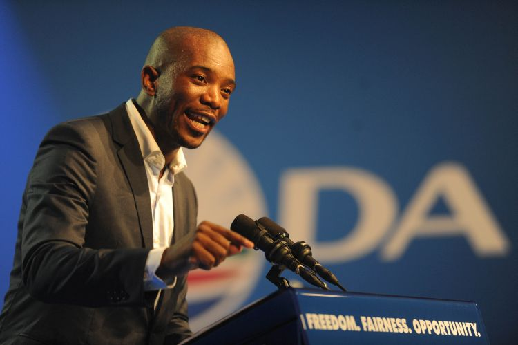 Democratic Alliance leader Mmusi Maimane. Picture: Alaister Russell