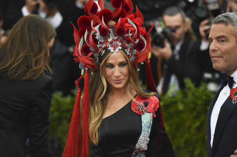 AFP / Timothy A. Clary<br />Sarah Jessica Parker arrives for the Costume Institute Gala Benefit at The Metropolitan Museum of Art, in New York, on May 5, 2015