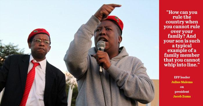 Malema takes Zuma challenge to Twitter | The Citizen