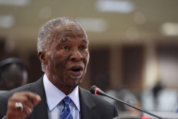 Former president Thabo Mbeki. File Picture: Refilwe Modise