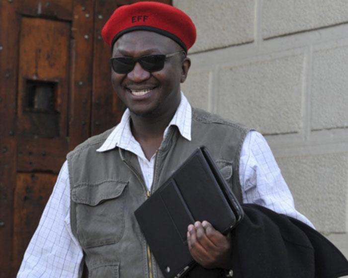 Acting EFF spokesperson Fana Mokoena. Picture: Gallo Images