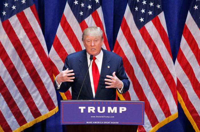 Presidential hopeful Donald Trump.