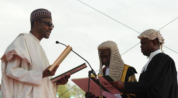 Presidential Inauguration ceremony for Muhammadu Buhari in Abuja, Nigeria. (Photo: GCIS)