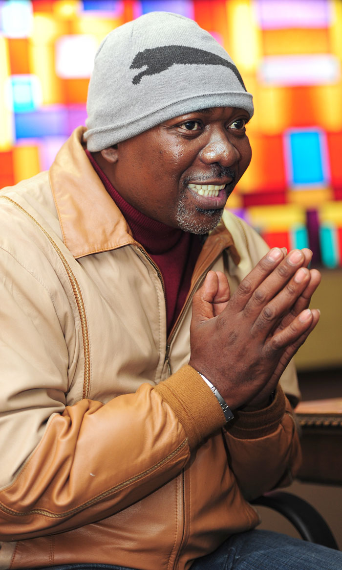 Menzi Ngubane has been given a second chance at life and he is not wasting it. Picture: Nigel Sibanda