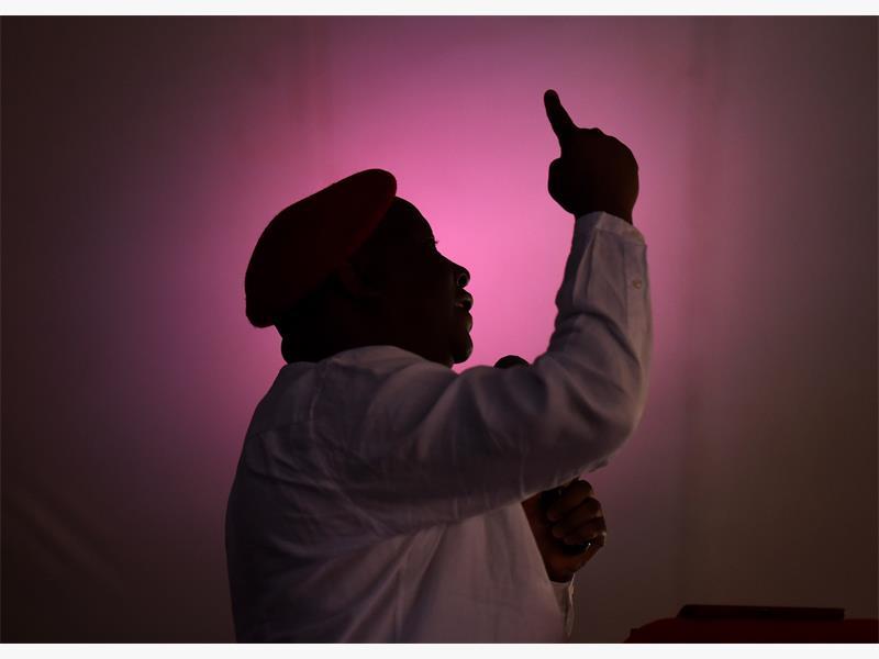 EFF leader Julius Malema gives the keynote address on the Freedom Charter in Zamdela, 27 June 2015. Picture: Refilwe Modise