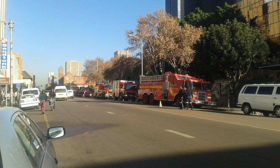 Reserve bank evacuated following fire alarm