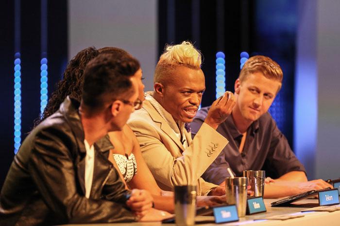 Idols SA judges Randall Abrahams, Unathi Msengana, Somizi Mhlongo and Gareth Cliff. Picture: Supplied