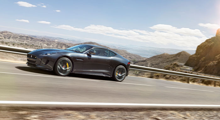 The Jaguar F-Type R Coupe AWD is now available in SA. Picture: Supplied