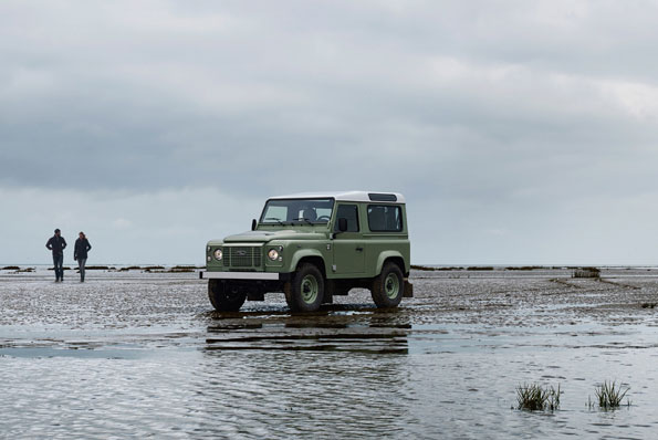Only 215 of the Land Rover Heritage and Adventure editions will be sold. Picture: Supplied