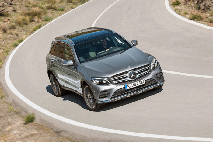 The Mercedez-Benz GLC is said to go where no X3 or Q5 will ever go. Picture: Supplied