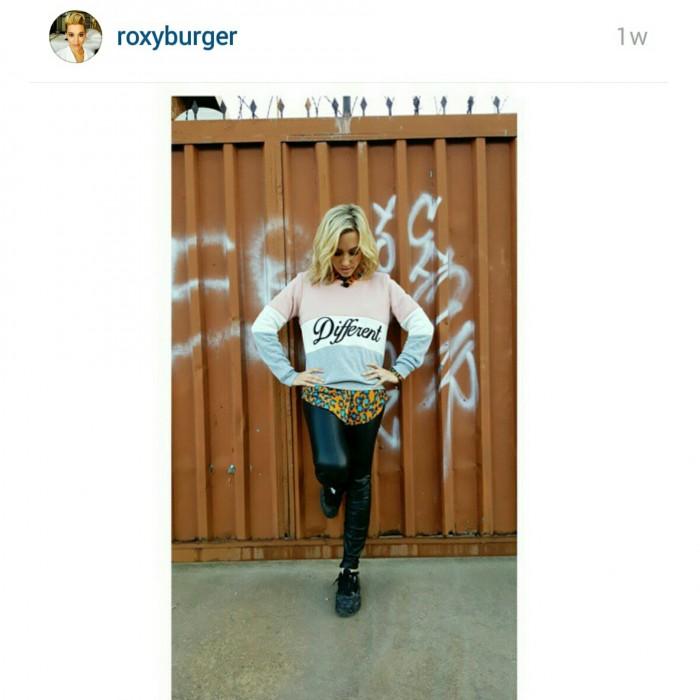 Roxy Burger. Picture: Instagram