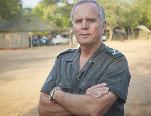 Retired Major-General Johan Jooste, Head of Anti-Poaching in KNP. Pic: Lowvelder.