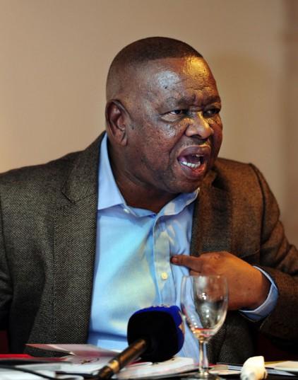 FILE PICTURE: SACP general secretary Blade Nzimande. Picture: Nigel Sibanda
