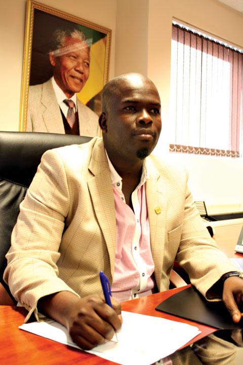 ANC Regional Chairperson for the Musa Dladla Region and uThungulu District Municipality Deputy Mayor, Thulani Mashaba PHOTO: Ronelle Ramsamy