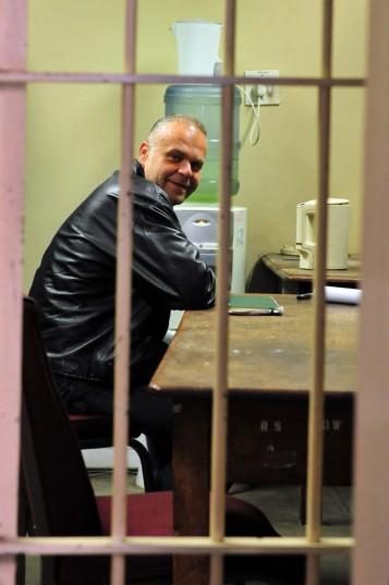 Radovan Krejcir at the Germiston Magistrates' Court. Picture: Neil McCartney