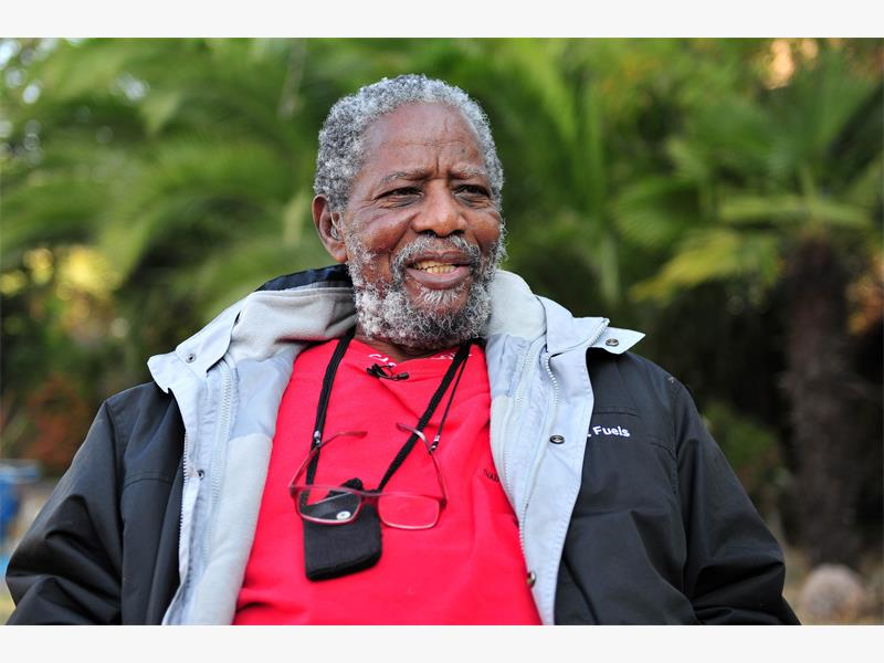 Joe Mafela speaks to The Citizen at his home in Kew, 8 July 2015.  Picture: Neil McCartney