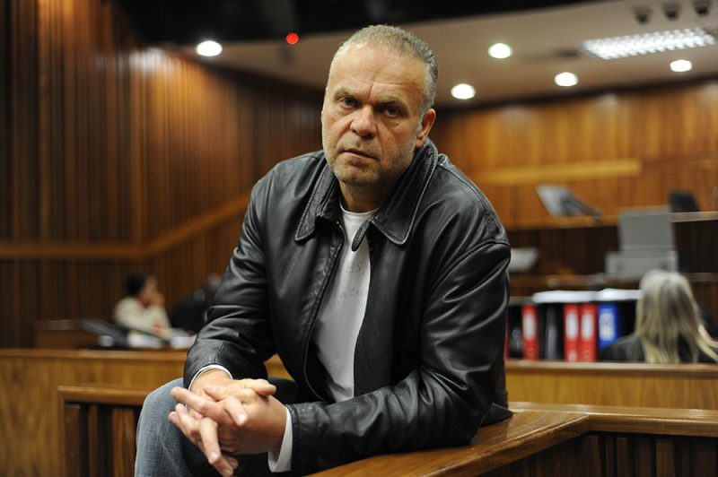 Radovan Krejcir appears ahead of court proceedings, 21 July 2015, at the South Gauteng High Court, in the Johannesburg CBD, for the final arguments of the case. Krejcir is facing charges of attempted murder, kidnapping and torture of Bhekithemba Lukhele. Picture: Alaister Russell