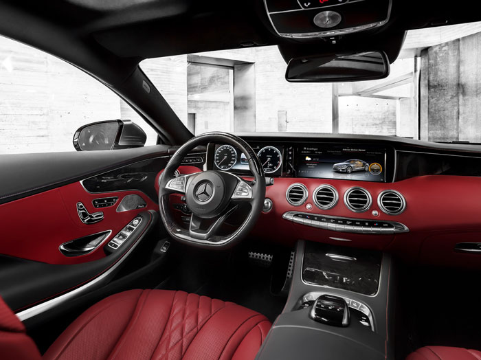 The Mercedes-AMG S 65 coupe. Picture: Supplied