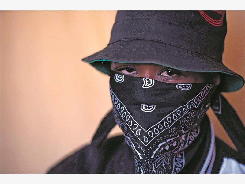 A member of the Wrong Turn gang who does not want to be identified speaks to The Citizen in Sebokeng, south of Johannesburg. The gang claims to have been wrongfully accused by community members for a series of violent attacks and various criminal activities in the township.