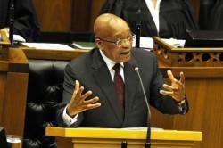 Zuma promises tough action on economy