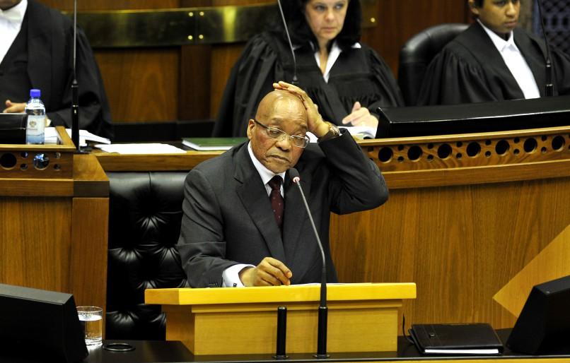 President Jacob Zuma. Photo by Gallo Images / Beeld / Lerato Maduna