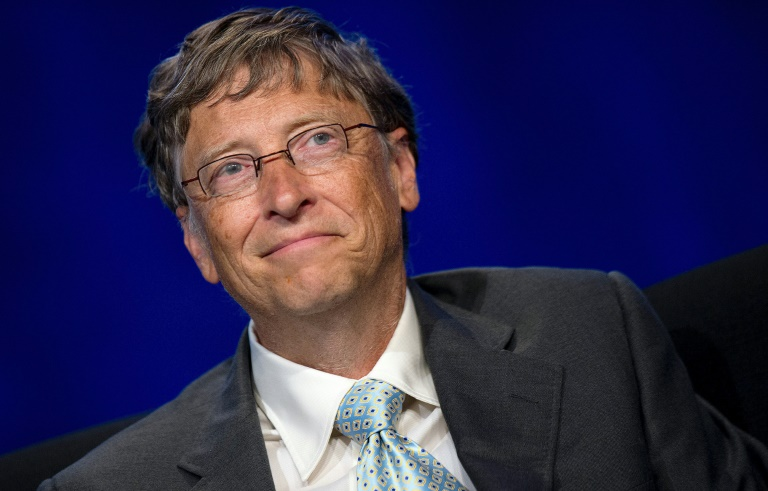 AFP/File / Jim Watson<br />Microsoft's Bill Gates, pictured on July 23, 2012, in Washington, DC, was the unsurprising leader of the first Forbes list of the richest global tech billionaires