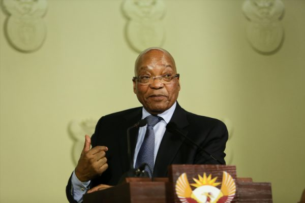 FILE PICTURE: President Jacob Zuma. Picture: (File photo by Gallo Images / The Times / Alon Skuy)