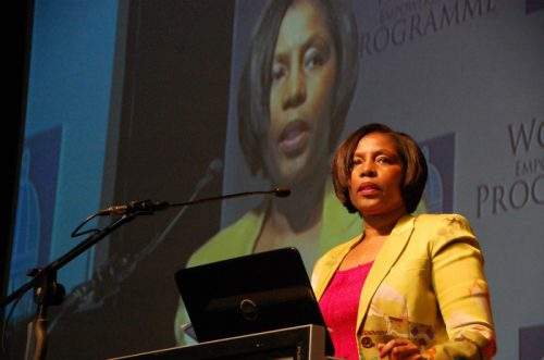 Home Affairs Minister Ayanda Dlodlo.  Picture Phumlani Thabethe Date 06 August 2015
