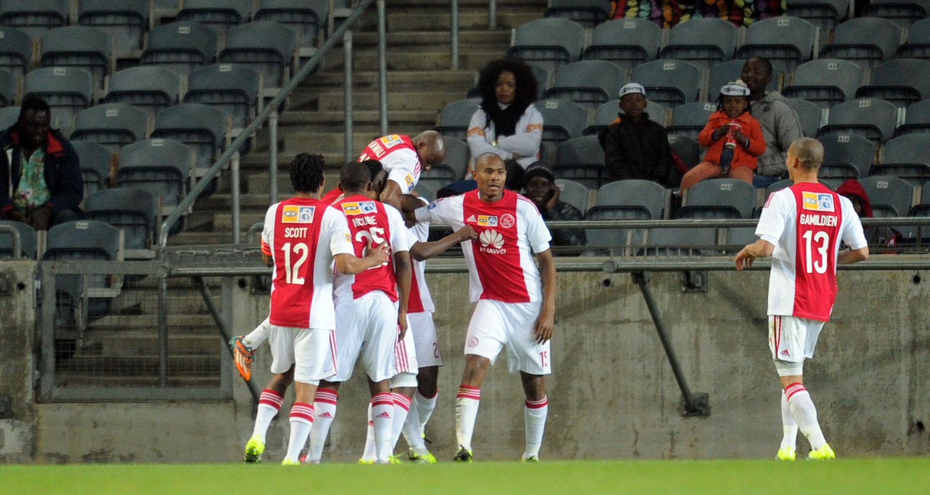 Ajax stun Pirates to reach MTN8 semis
