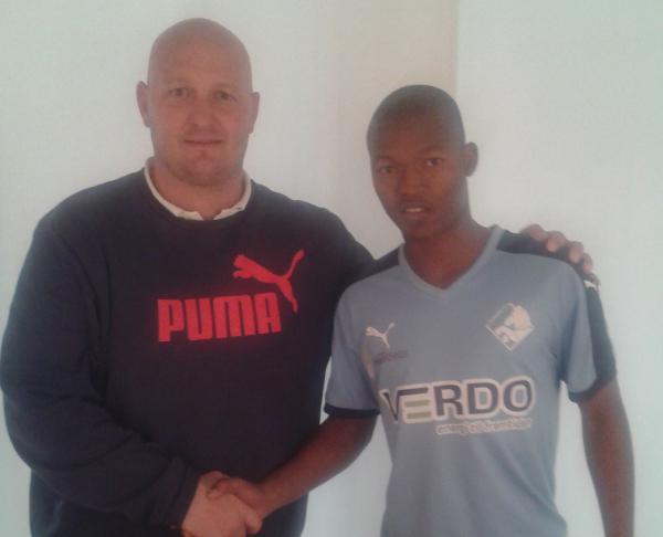 Mandla Masango has joined Danish side Randers FC.
