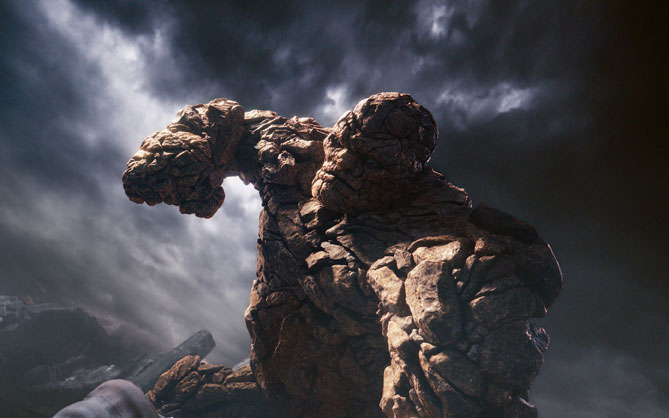 A scene from Fantastic Four. Picture: Supplied.
