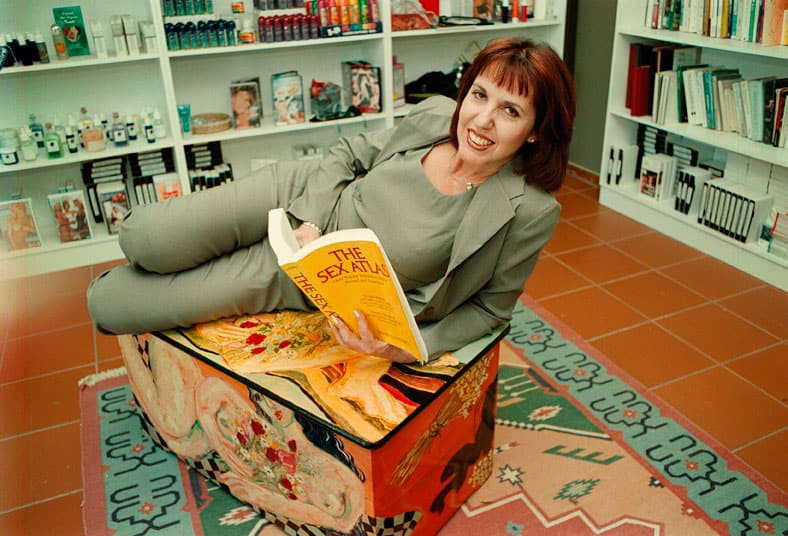 """FILE PICTURE: """"Dr Eve"""" Marlene Wasserman on May 8, 2013, in South Africa. (Photo by Gallo Images / Sunday Times / Jackie Clausen)"""