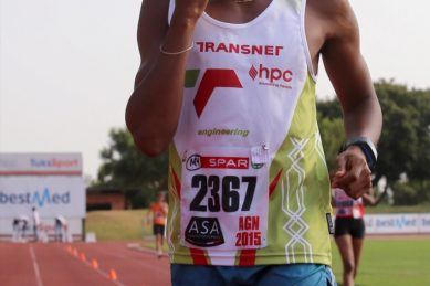Shange eyeing race-walk medal at World Champs