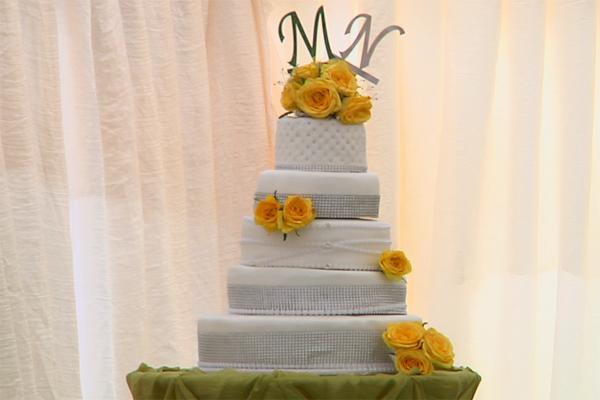 Wedding cake. Picture: OPWMzansi