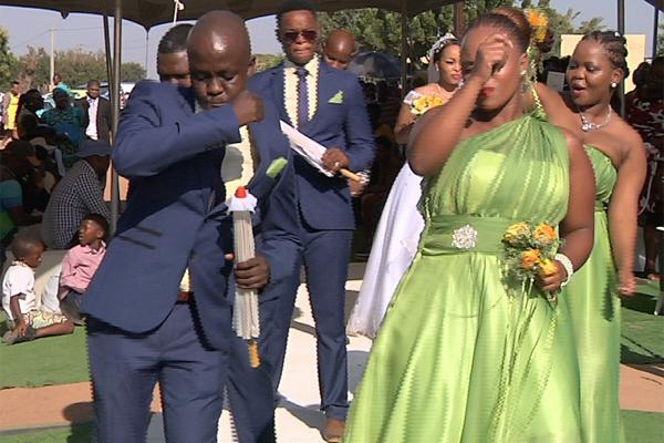 Wedding step. Picture: OPWMzansi