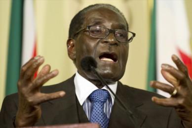 Whites have taken over once again, moans 'sad' Mugabe