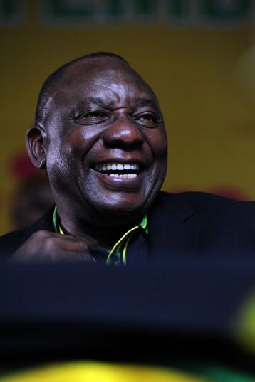 FILE PICTURE: ANC President Cyril Ramaphosa. Picture: Niel Sibanda