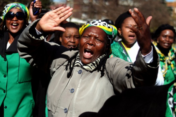 FILE PICTURE: ANC Women's League (ANCWL) marching. (File Picture: Gallo Images / The Times / Moeletsi Mabe)