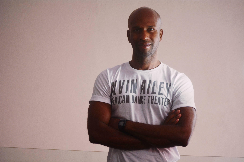 Glen Allen Sims of the Alvin Ailey American Dance Theate