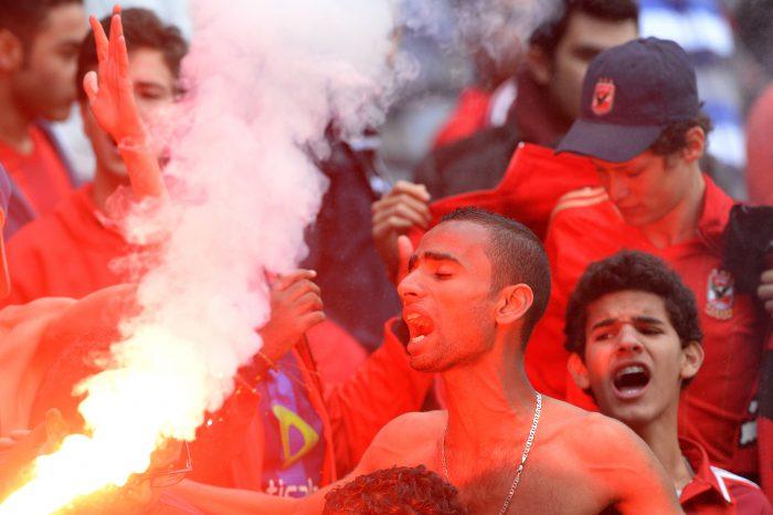 Al Ahly fans (Photo by Duif du Toit/Gallo Images)