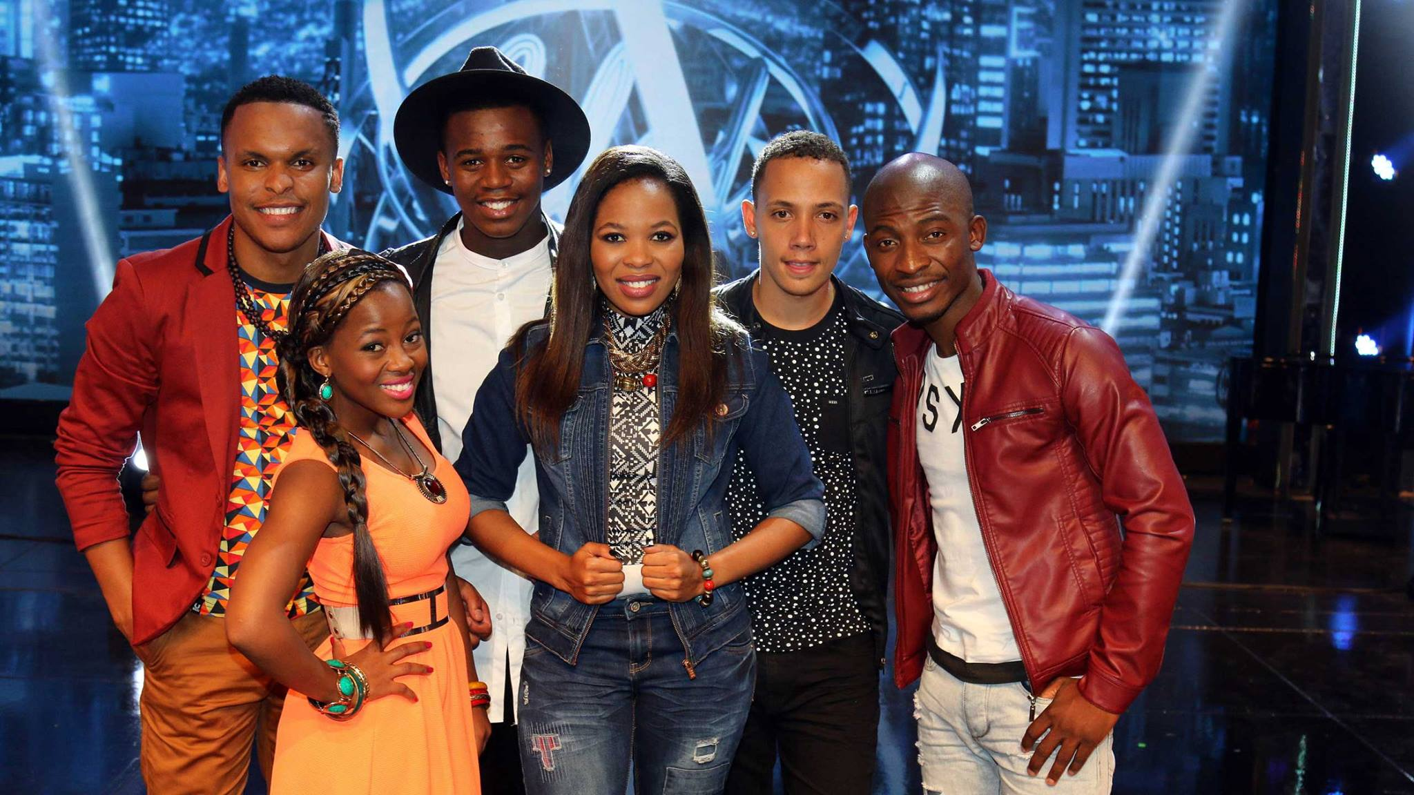 The Idols SA top 6. Picture: Facebook