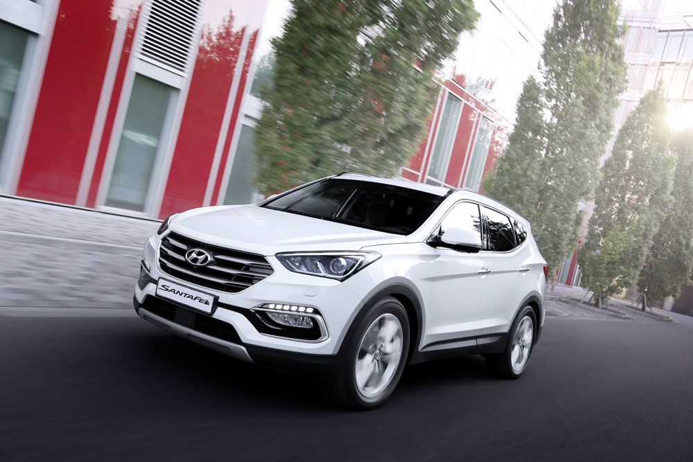 The Hyundai Santa Fe has an advanced range of new active safety, comfort and convenient features. Picture: Supplied