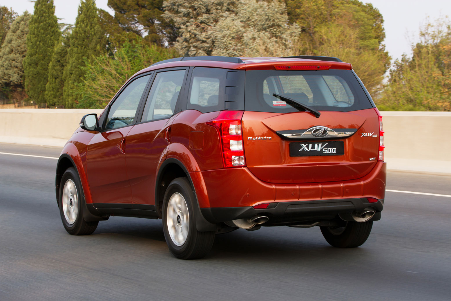 The Mahindra XUV500 is upgraded with Cheetah-inspired styling. Picture: Supplied
