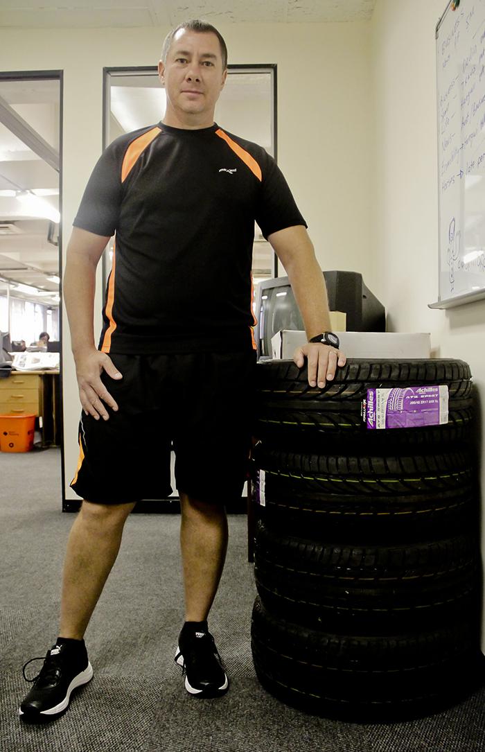 Pieter Veldman is our motoring competition winner!