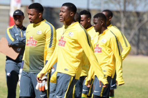 Bafana Bafana players during the South African national soccer team training session. (Photo by Lefty Shivambu/Gallo Images)