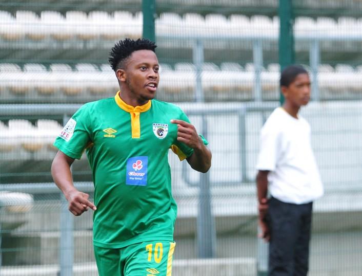 Thabiso Kutumela of Baroka FC (Ryan Wilkisky/BackpagePix)